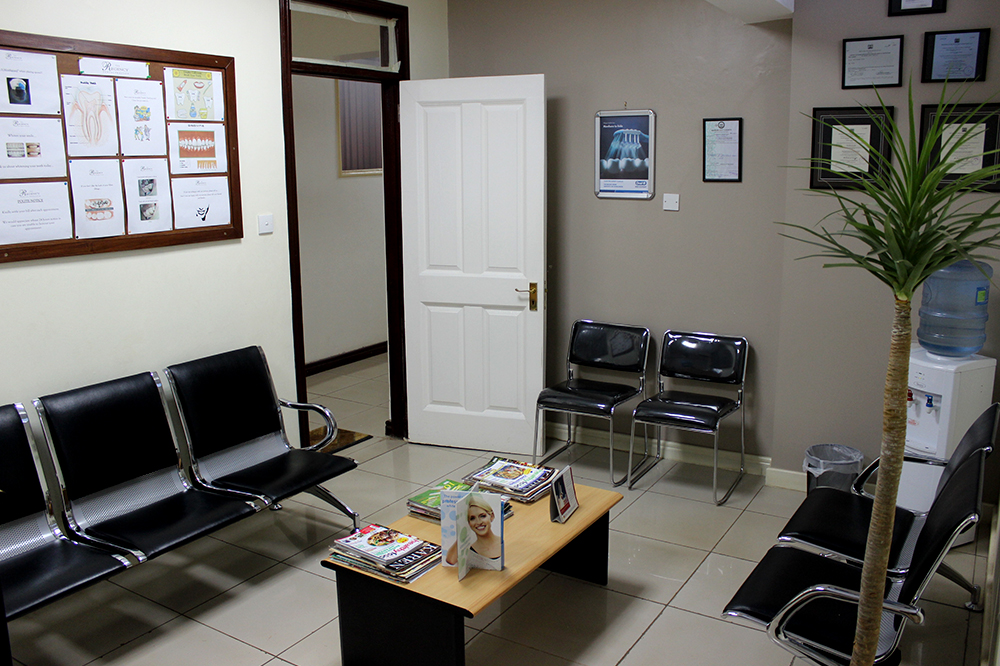 Regency Dental Reception Area